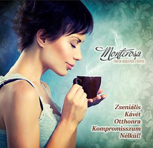 Monterosa - A zseniális kávé otthonra!