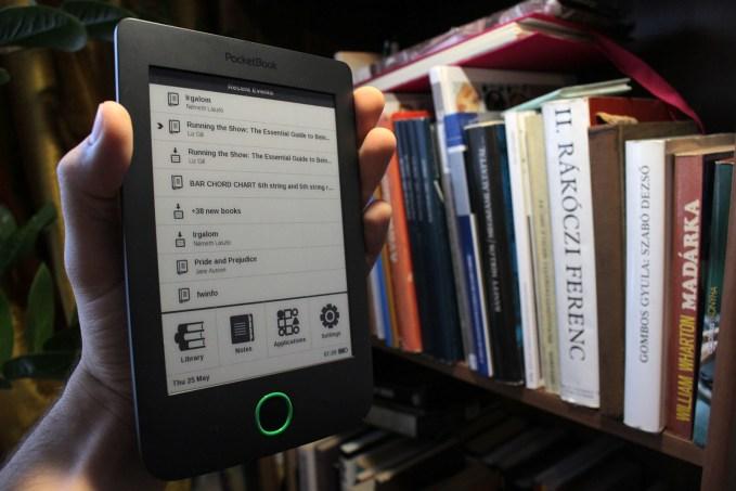 PocketBook Basic 2 eBook olvasó teszt