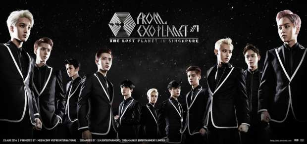 EXO FROM EXOPLANET 1 - THE LOST PLANET