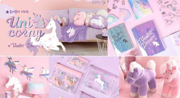 daisy korea unicorny violet dream