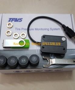 cảm biến áp suất lốp TPMS van ngoài