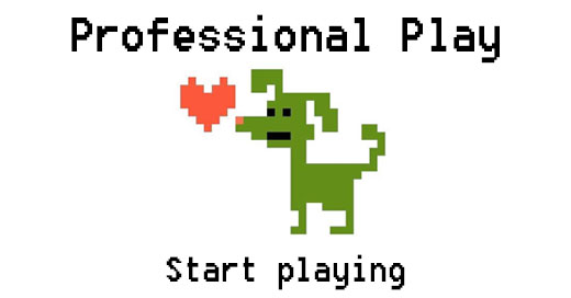 Professional play: Playfulness in a professional context