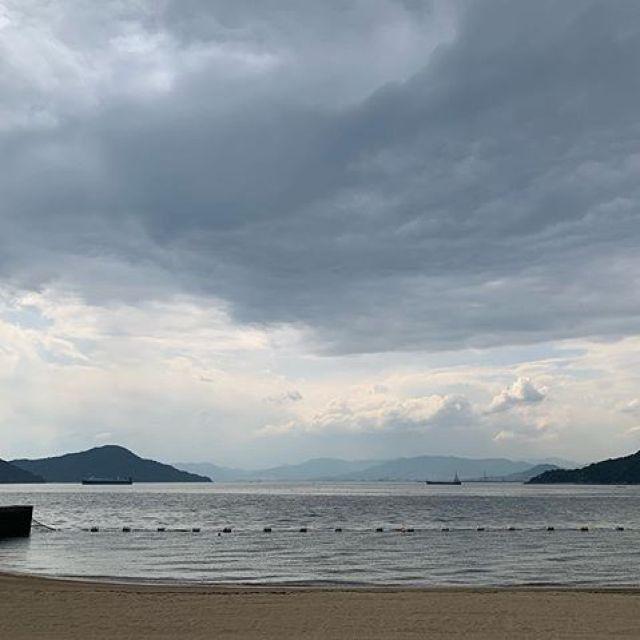 カワ散歩。海へ〜、行こうじゃ〜ないかー!#唄うたいカワムラ