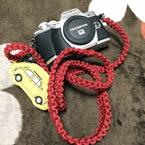 ミラーレス一眼カメラストラップ - A:レッド