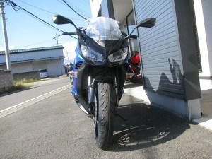 新車 カワサキ NINJA1000 ABS ブルー/ブラック フロントサイド