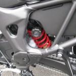 新車バイク ホンダ CRF1000L アフリカツイン トリコロール リヤサスペンション