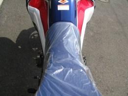 新車バイク ホンダ CRF1000L アフリカツイン トリコロール タンクからシート