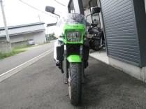 カワサキ ZRX1200DAEG ファイナルエディション ライムグリーン 前側