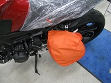 ヘルメットカバーオレンジ