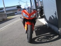 NINJA250スペシャルエディション オレンジ/ブラック 前側