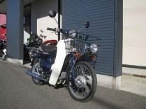 ホンダ プレスカブ(50cc) ブルー 前側