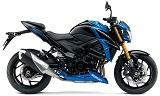 スズキ GSX-S750ABS ブラック/ブルー