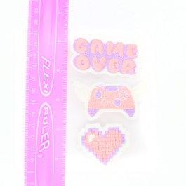 Gamer Girl Pastel Hair Clip Set