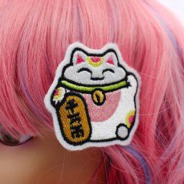 Lucky Cat Hair Clip Set