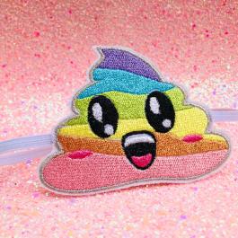 Rainbow Poop Emoji Headband – Unicorn Poop