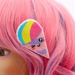 Snow Cone Kawaii Hair Clip Set for Girls