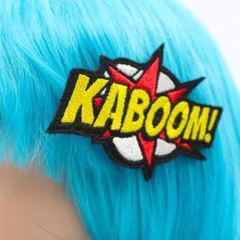 KaBoom! Comic Book Hair Clip
