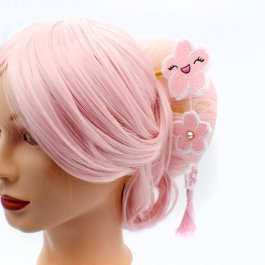 Kawaii Sakura Cherry Blossom Hair Stick