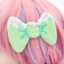 Decoden Hair Bows For Girls – Mint Green