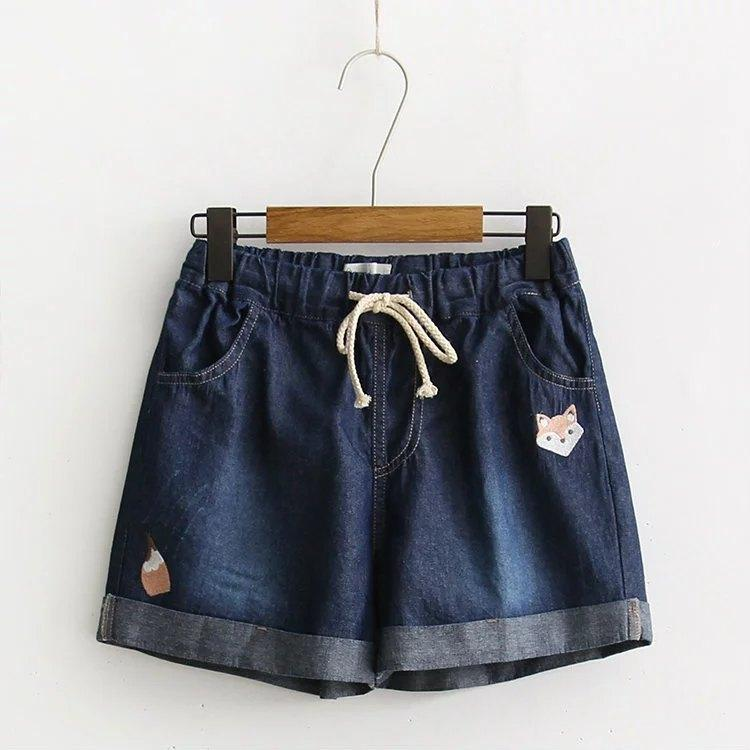 Jean shorts fox light blue
