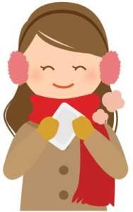 冷え性が治った女性のイメージ画像