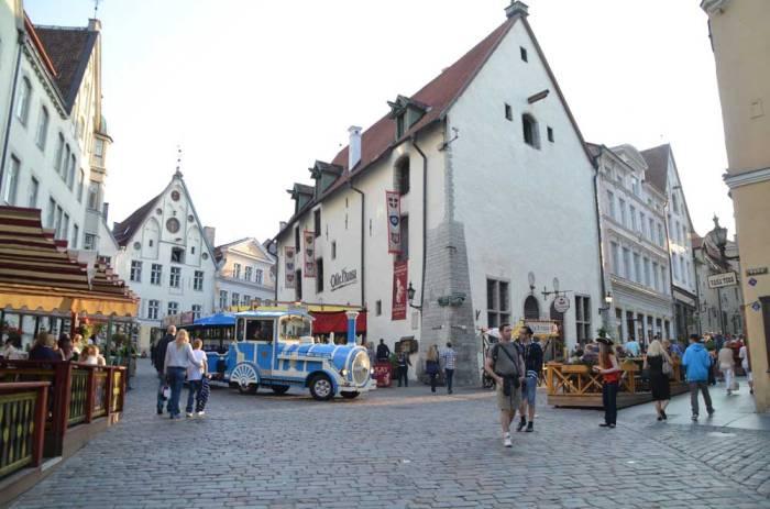 Centro medieval Estônia