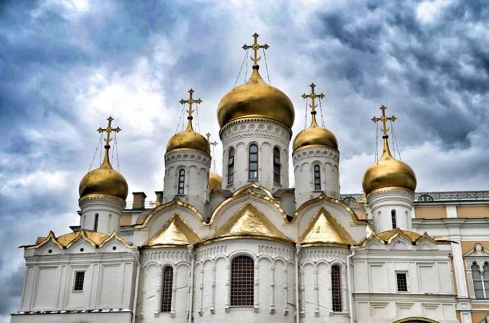 Igreja de Kremlin em Moscou