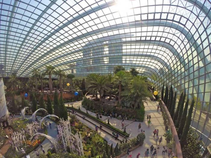 Flower Dome em Singapura