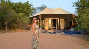 Resort de Luxo no deserto de Dubai
