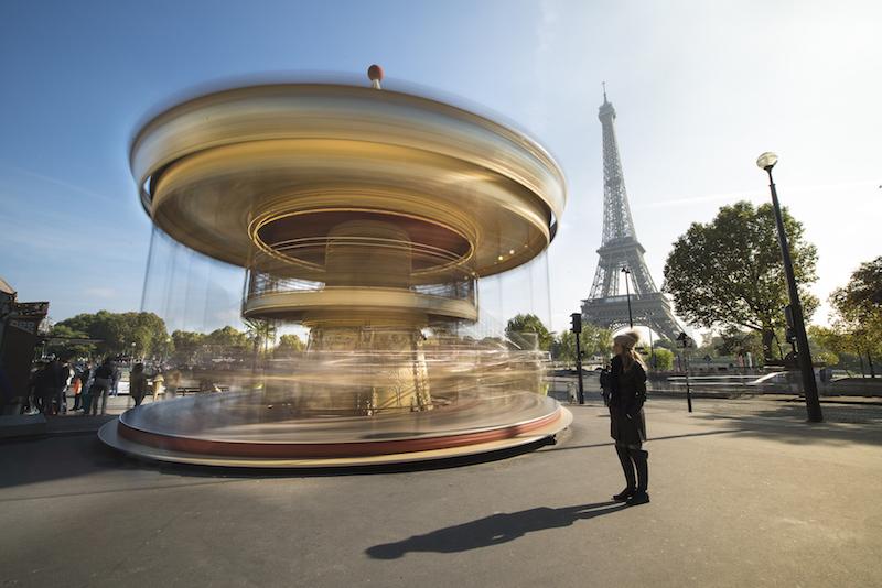 Pontos turísticos em Paris