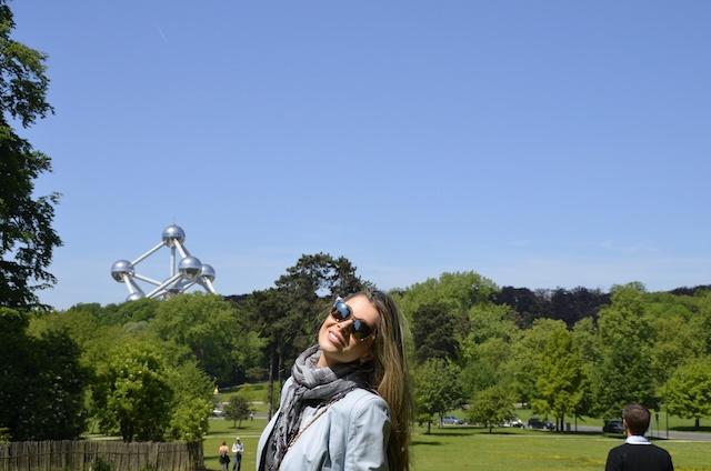 Passeio em Atomium na Bélgica
