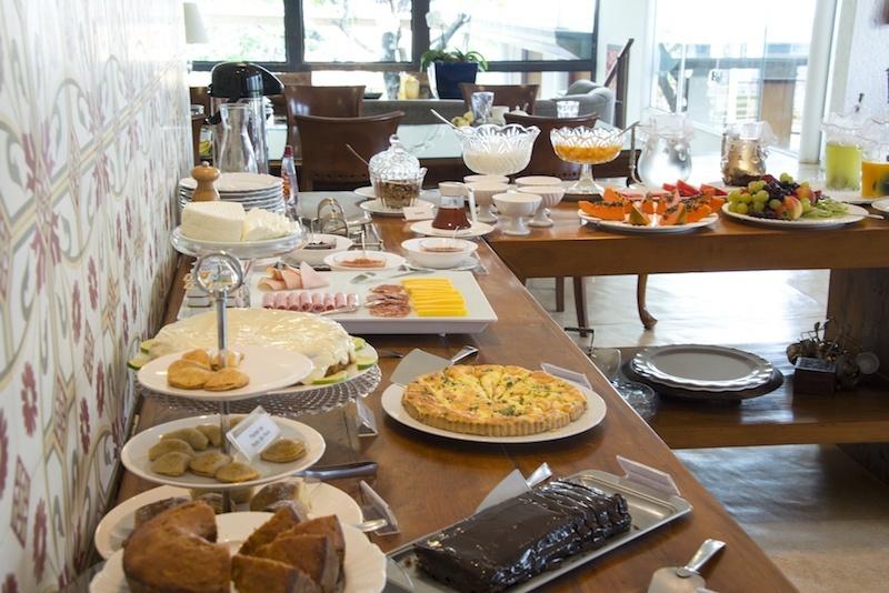 Café da manhã Pousada Oratório