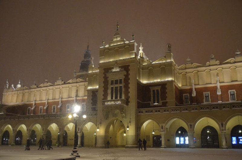 O que fazer na Cracóvia a noite