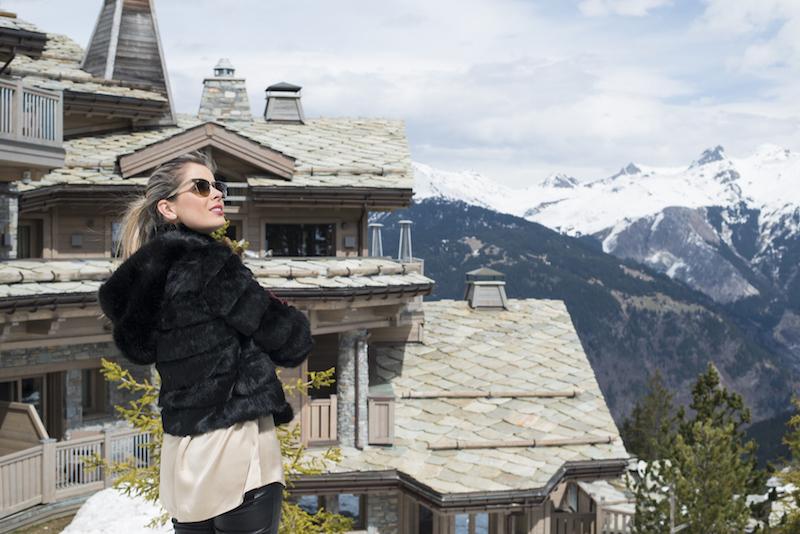 hotel de luxo Le K2 Courchevel alpes franceses