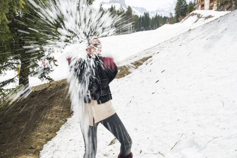 Passeios na neve em Courchevel
