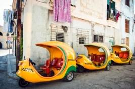 Coco táxi em Cuba