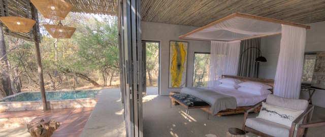 Hotel de Luxo no Zimbábue