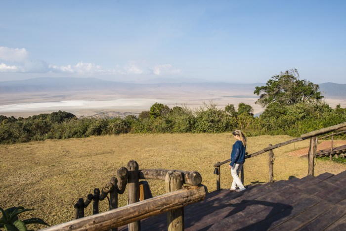 &Beyond Ngorongoro lodge