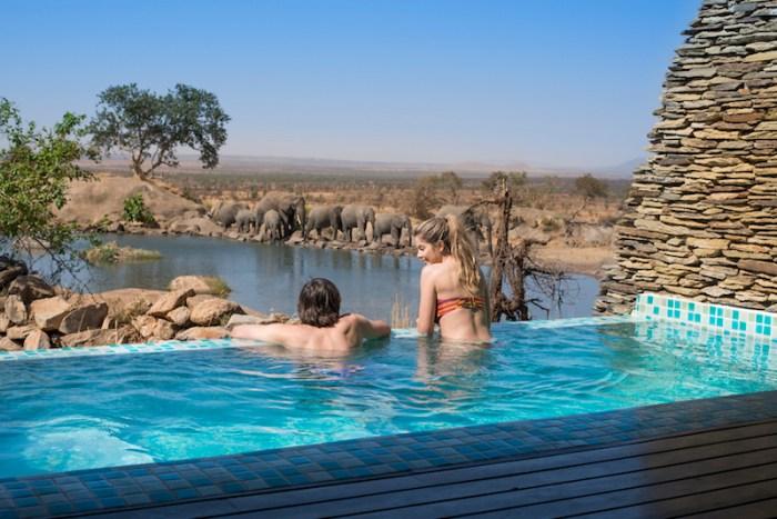 Piscina Quarto Four Seasons Serengeti