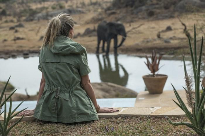 Hotel de luxo na África