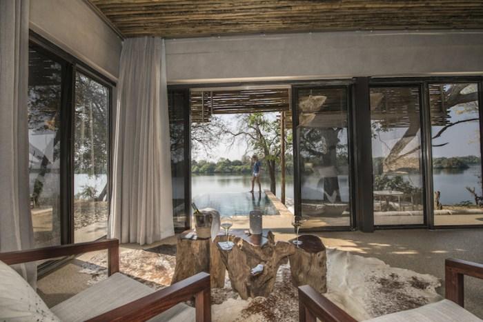 Hotel de luco Matetsi Zimbábue