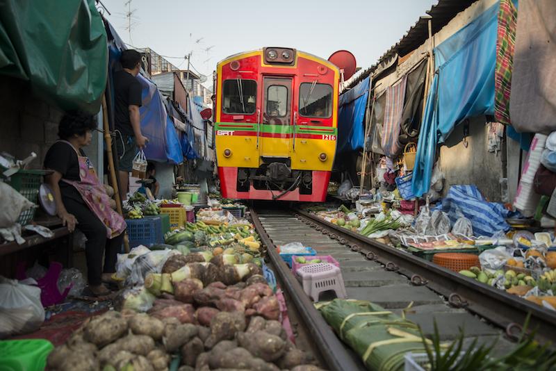 mercado do trem