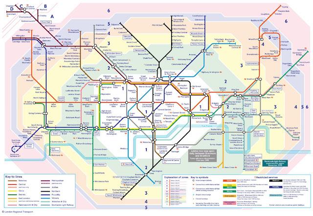 quanto custa transporte público em Londres