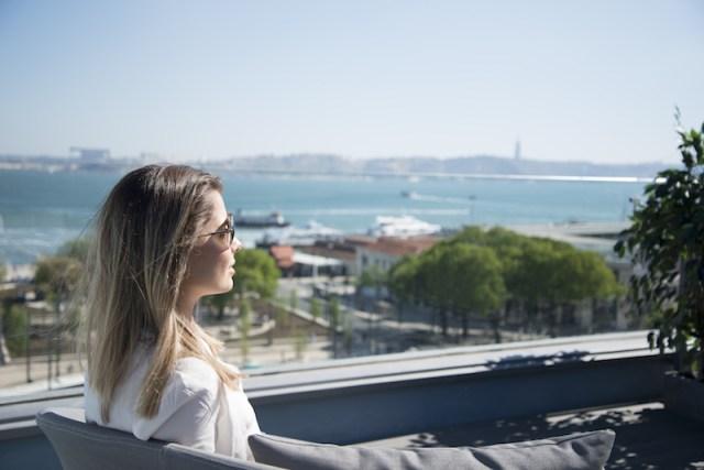 rooftops em Lisboa