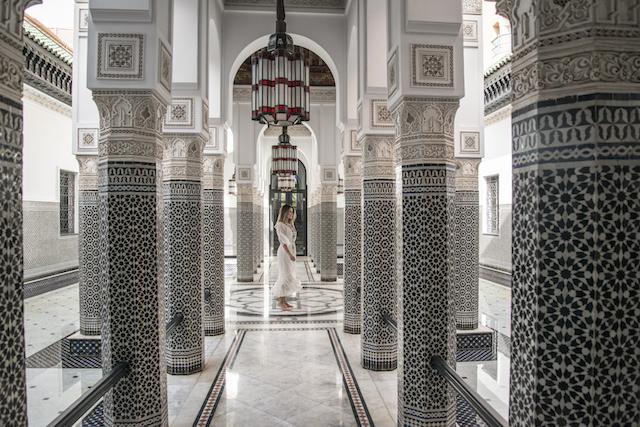 Hotel de luxo no Marrocos