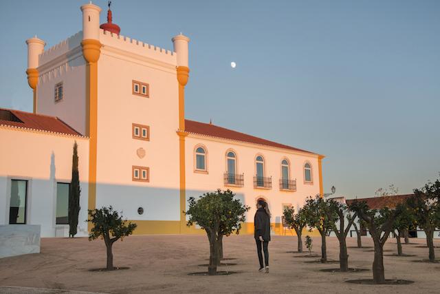 Passeios e aldeias no Alto Alentejo em Portugal