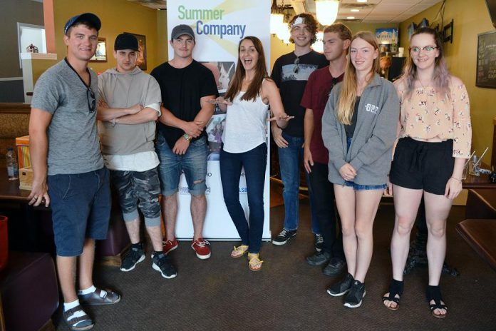 Students in the 2017 Summer Company program run through the Kawartha Lakes Small Business and Entrepreneurship Centre built their businesses and their confidence through the dynamic student entrepreneur program, which is running again this summer. Nine grants are available through Peterborough & the Kawarthas Economic Development and seven are available through the Kawartha Lakes Small Business and Entrepreneurship Centre. The deadline to apply is May 19, 2018. (Photo courtesy of Kawartha Lakes Small Business and Entrepreneurship Centre)
