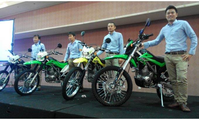 launching Kawasaki-New-KLX-150