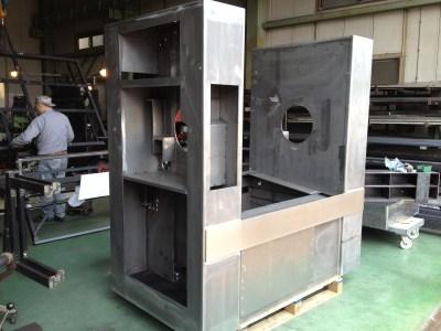 2800×2000×1200 SS 食品製造ライン向け架台