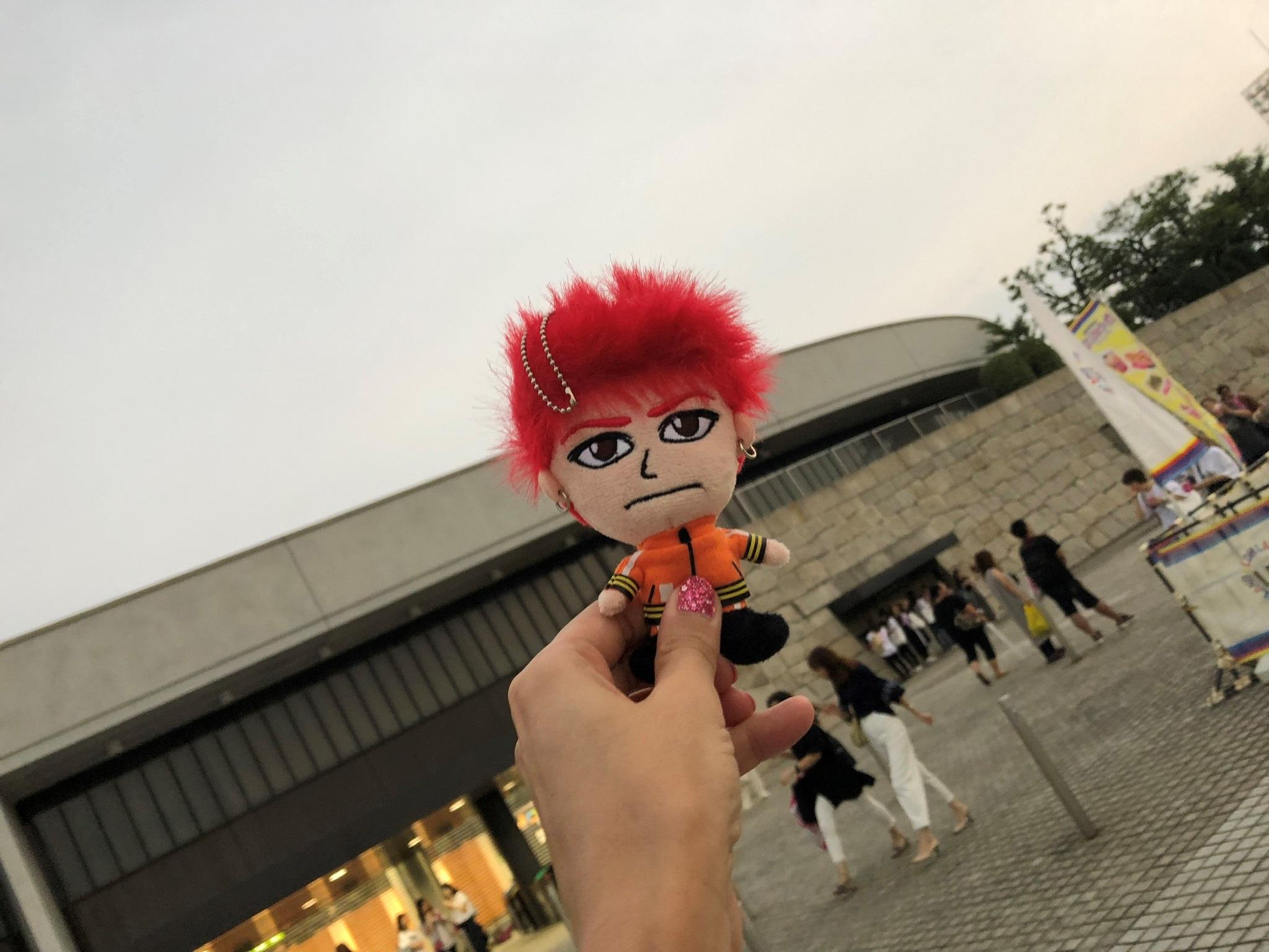 行かない予定の大阪・・・行ってしまった大阪城ホール